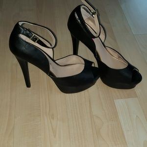 Betsey Johnson Peep Toe Stiletto